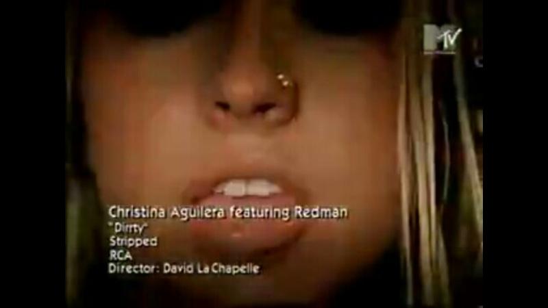 Christina aguilera redman dirrty mtv