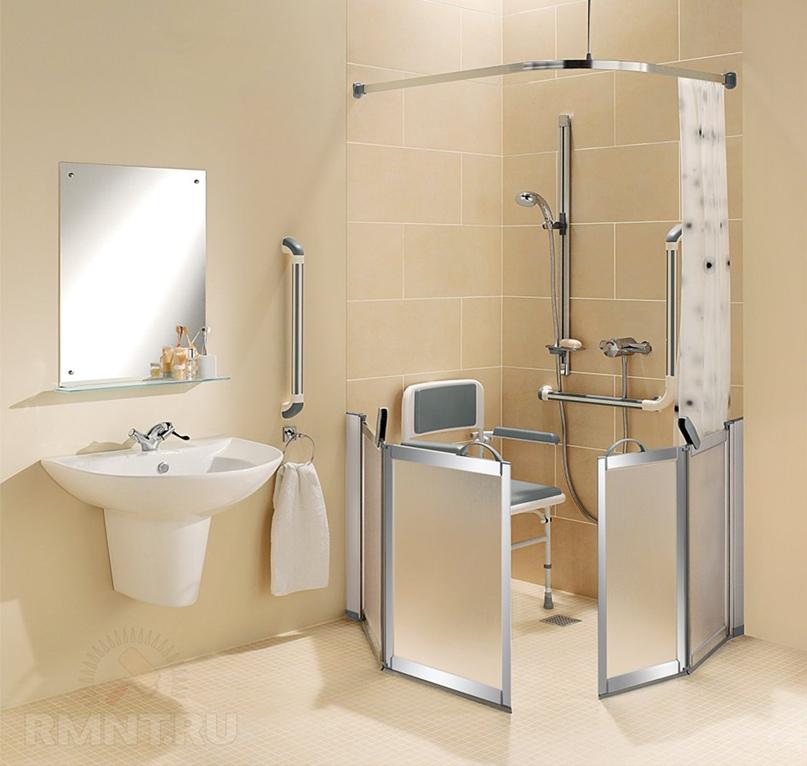 Ремонт ванной комнаты для пожилых людей: что нужно учесть?
