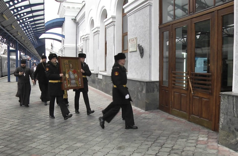 В Севастополь прибыла икона святого благоверного князя Александра Невского, изображение №4