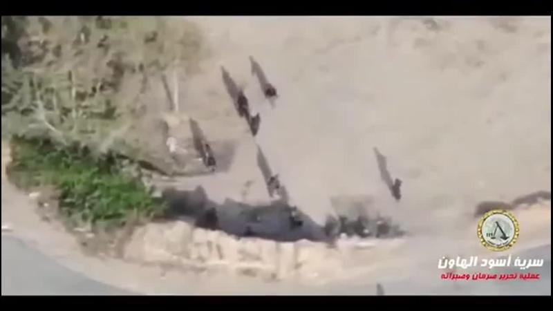 Лива Усуд аль Хаун Бригада Миномётных Львов аль Вефак Погром бандитов Хафтара во время битвы за Сабрату и Сурман