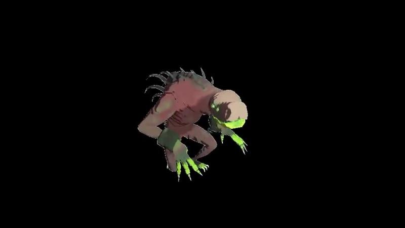 Акрид танцует