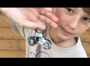 Hand spinner VS eaux, farine , savon