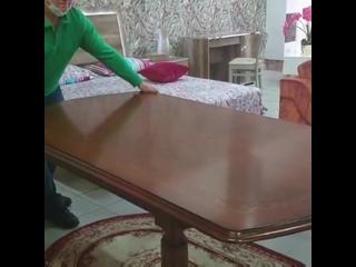 Классические обеденные столы Флориана каштан, новые, не с экспозиции салонов, для праздничного семейного застолья по сниженной ц