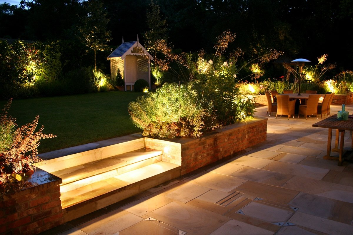 Как сделать освещение дачного участка?