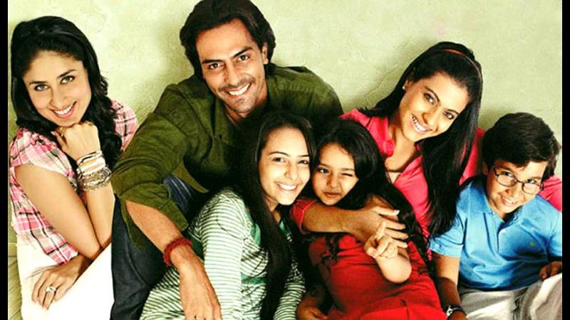 Я люблю тебя мамочка Мы семья Индийский фильм 2010 год В ролях Арджун Рампал Карина Капур Каджол Амрута Пракаш и др
