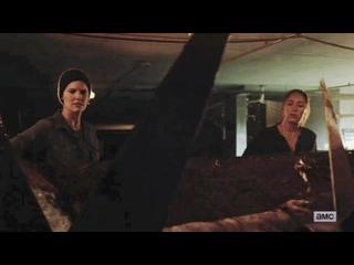 Бойтесь ходячих мертвецов 6 сезон 11 серия Алиша Кларк и Алфия #1