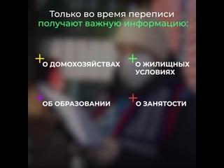 ✏ Уже в пятницу в России начинается перепись насел...