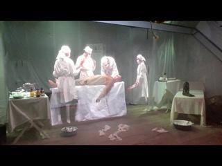 В музее Минобороны кубинка 2020 сентябрь видео 1. Медицина на второй мировой войне