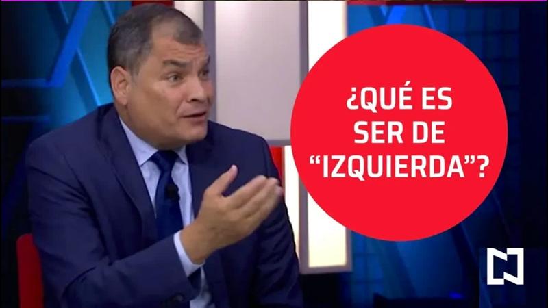 🇪🇨 Rafael Correa expresidente de Ecuador sobre el socialismo de siglo XXI