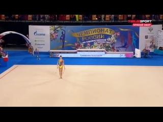 ● Анастасия Симакова - Булавы (финал) / Чемпионат России 2021