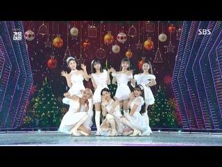 "· Perfomance · 191225 · OH MY GIRL - ""Bungee"" (X-mas ver.) · SBS ""Gayo Daejeon"" 2019 ·"
