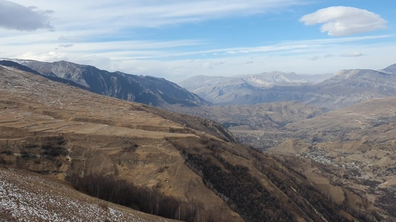 Дагестан II 2021 плато Матлас и дорога к ледяному водопаду