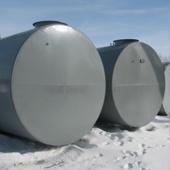 Резервуар горизонтальный двустенный РГД 50 м3