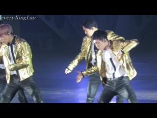 [FANCAM] 150612 EXOPLANET #2 - The EXO'luXion in Taipei @ EXO's Lay focus - Overdose