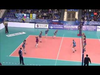 Волейбол  ЛЧ Женщины  Жвк Динамо Краснодар - Вк Визура  Белград