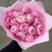 15 Нежно-розовых Пионов