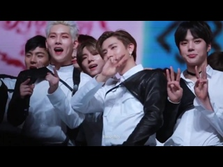 [VK][171231] MONSTA X fancam ending @ MBC Gayo Daejejeon : The FAN
