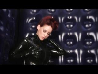 bianca beauchamp rubber room black catsuit