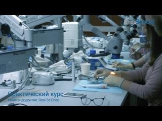 Практический курс Михаила Елендо «Иная эндодонтия: Real 3D Endo»