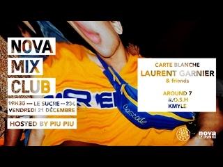 Laurent Garnier - Live @ Carte Blanche, Le Sucre, Nova Mix Club, Lyon, France  []