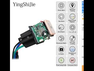 Автомобильное отслеживающее реле GPS трекер, устройство GSM Дистанционный Определитель местоположения контроль противоугонного м