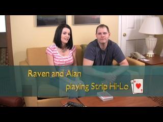 058. Рэйвен и Алан играют в Старше-Младше на раздевание (HD-качество)