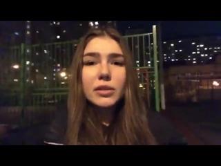 """Марьяна Наумова. Кавер на стихотворение """"Никогда мы не будем братьями"""" с Терешковой и Путиным."""