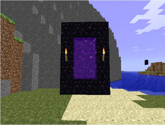 как сделать портал в ад в майнкрафте 1.11 #1
