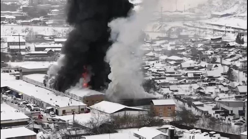 Большой пожар Трешач