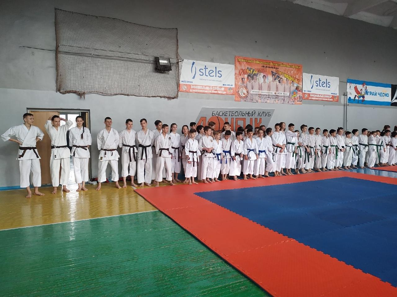В Донецке состоялся «Кубок Кайдзен» по традиционному каратэ