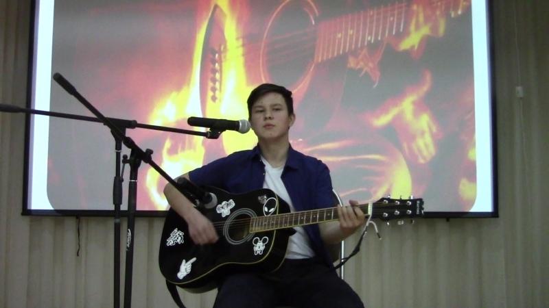 Петров Артём, гр. ПКД-209 с песней Юность моя