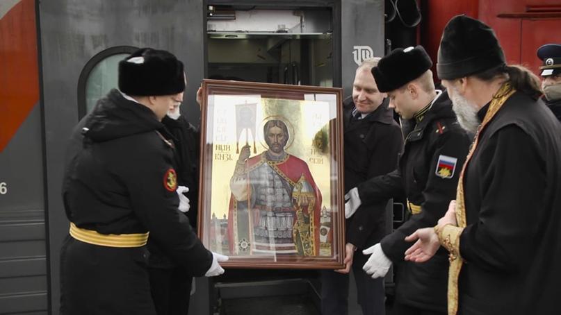 В Севастополь прибыла икона святого благоверного князя Александра Невского, изображение №2