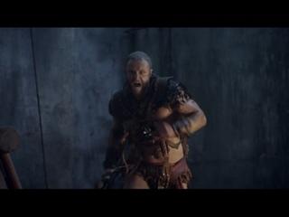 Спартак: Война проклятых. Бой Спартака с римлянами и пиратами на причале