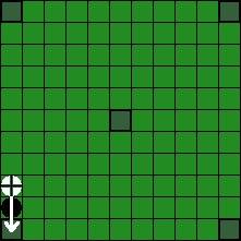 Берсерк Хнефатафл (Тавлеи) -   Командир и король перепрыгивают через вражескую фигуру (2)