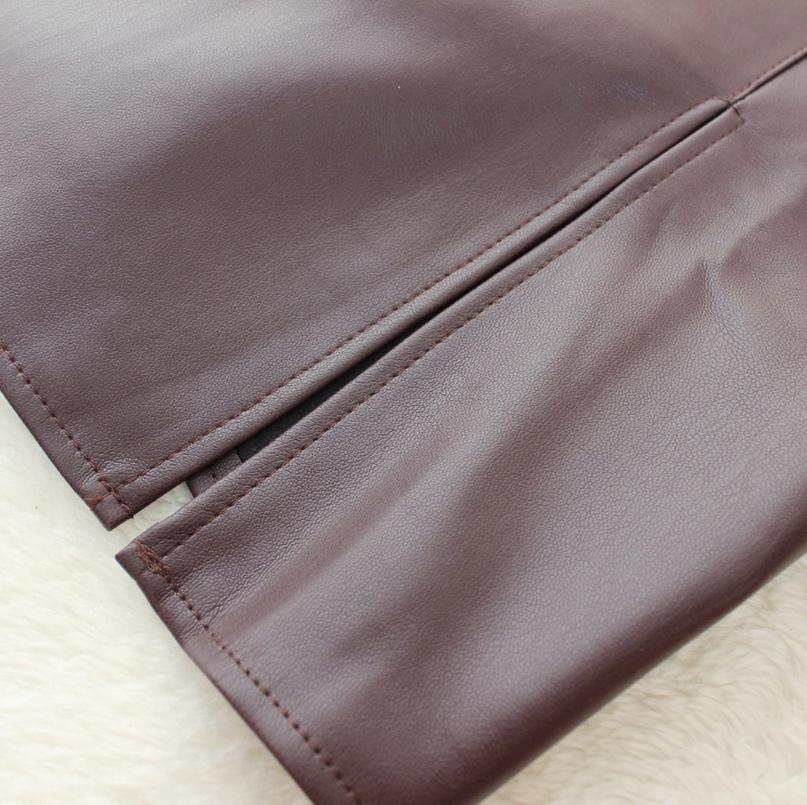 Крутейшая юбочка из кожзама