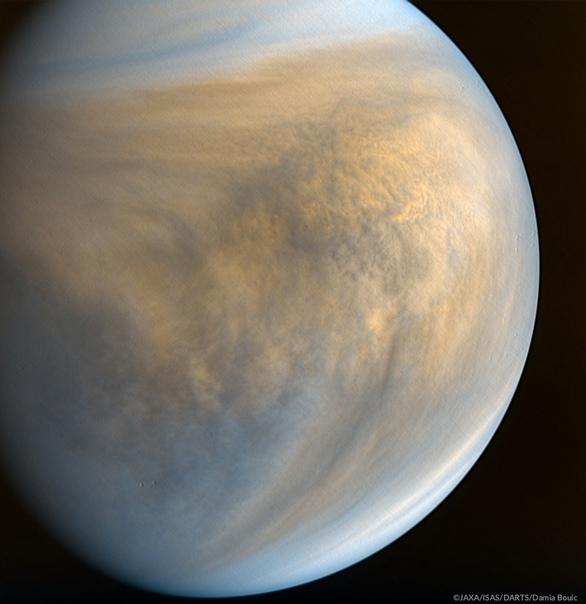 Снимок японским зондом Акацуки ультрафиолетовой ка...