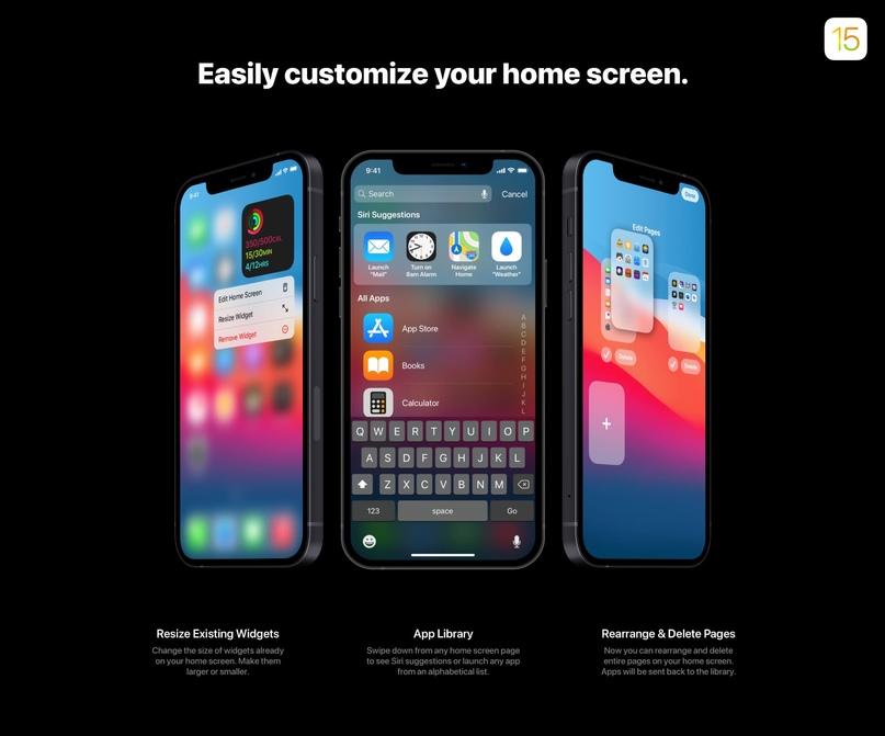 50 нововведений iOS 15 показали в новом концепте, изображение №2