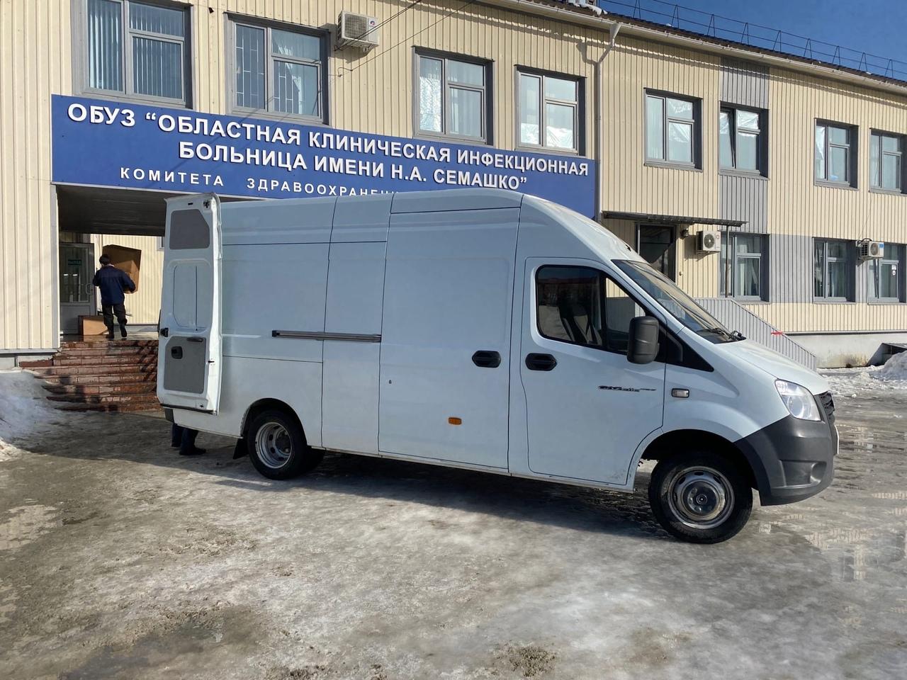 В Курскую область прибыли 28 грузовиков со средствами индивидуальной защиты