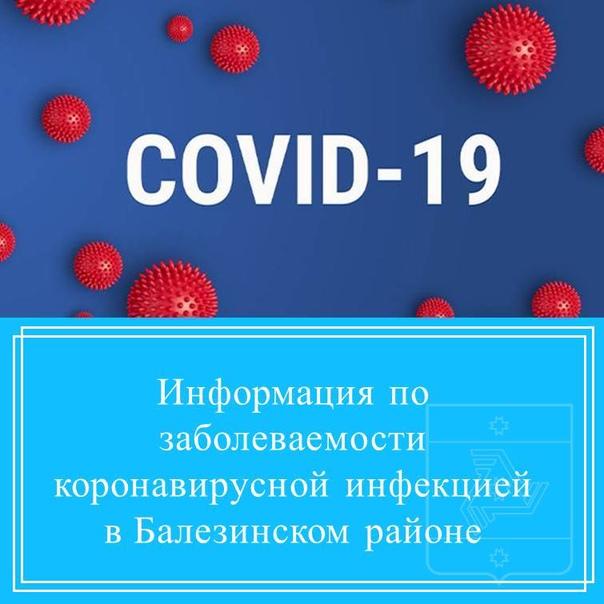 Информация по заболеваемости коронавирусной инфекцией в