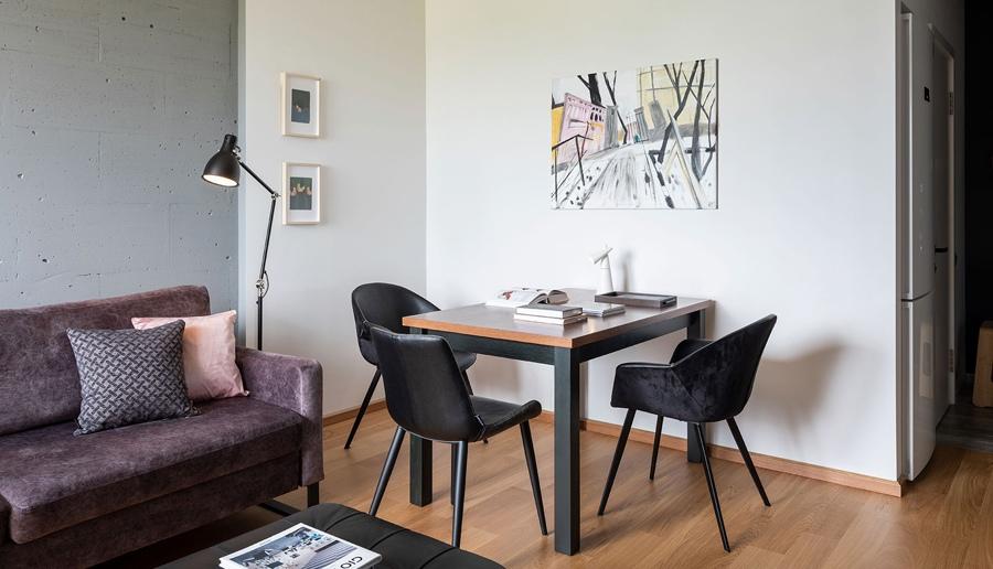 Интерьер квартиры почти 40 кв.