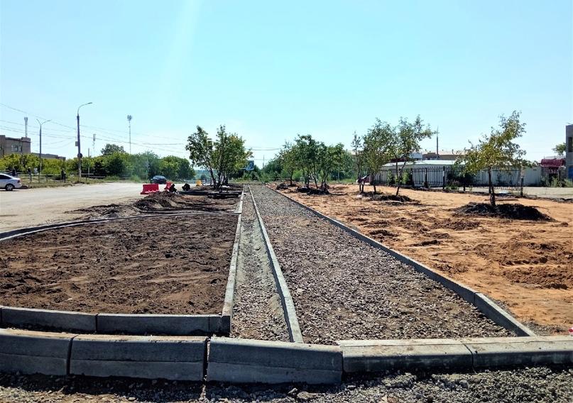 🔺 Продолжаются дорожно-строительные работы на проспекте Неплюева