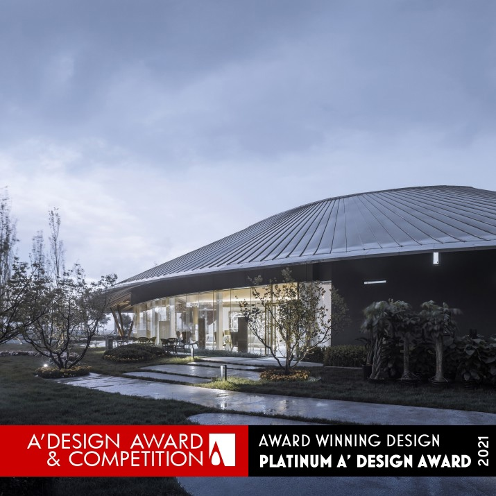 Tianjin Zarsion Exhibition Center by RUF Architects