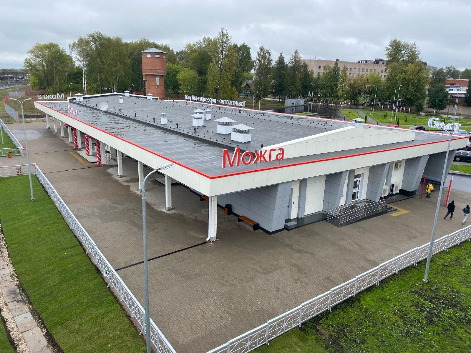 Транспортно-пересадочный узел открыли в Можге