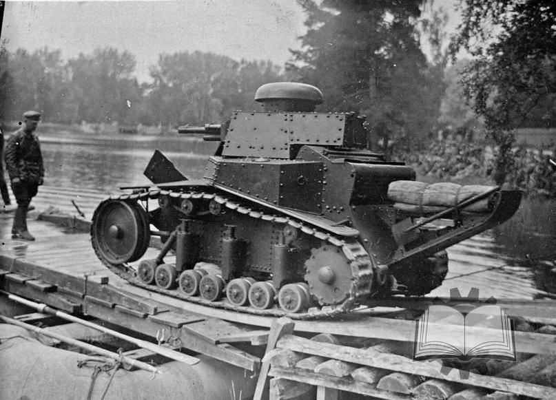 Т-18 (МС-1), первый отечественный танк собственной разработки и самый массовый танк, разработанный в 20-е годы.