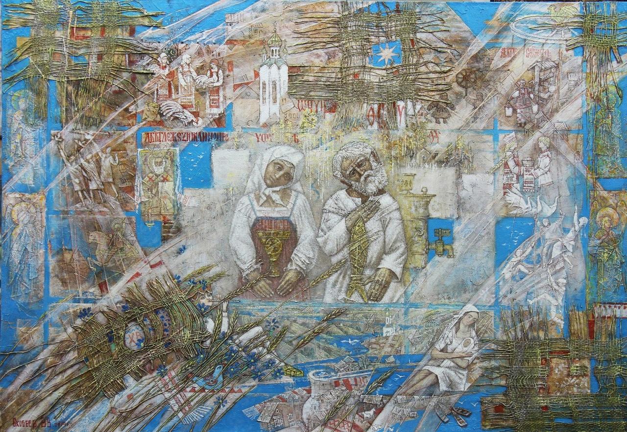 «Диалоги с вечностью» художника Виталия Скобеева покажут в Вологде🖼