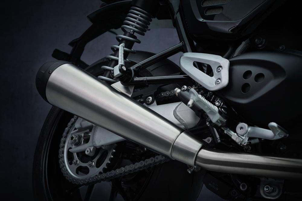 Обновленный мотоцикл Triumph Speed Twin 2021