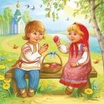 Весна-Красна Пасхальная — сценарий фольклорного праздника для детей