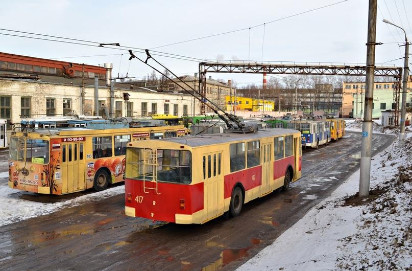 417-й троллейбус восстановлен Максимом Дорофеевым. Железный ряд в УКТ на фото Максима Дорофеева
