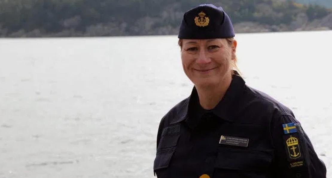 Шведская контр-адмирал