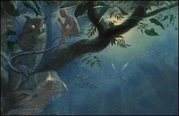 «Феи» Джона Симмонса Джон Симмонс (1823- 1876) британский миниатюрист, акварелист и иллюстратор, представитель викторианской сказочной живописи Хотя в первую очередь, он занимался портретной